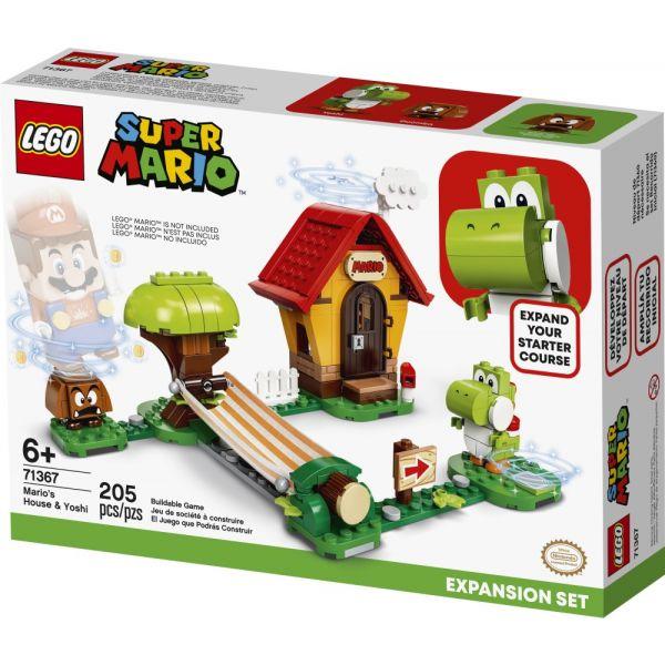 Lego Super Mario Expansão  Casa Do Mario E Yosh - Lego