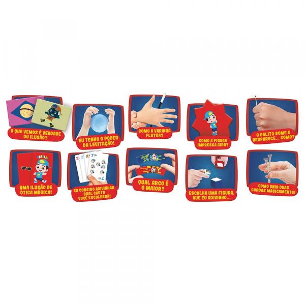 Jogo Para Crianças Kit Magicas Luccas Neto - Grow