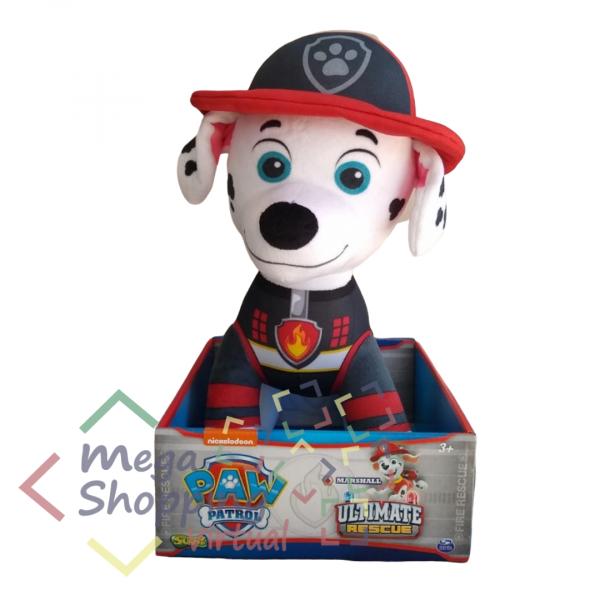 Pelucia Patrulha Canina Marshall Resgate Extremo 38 Cm - Sunny