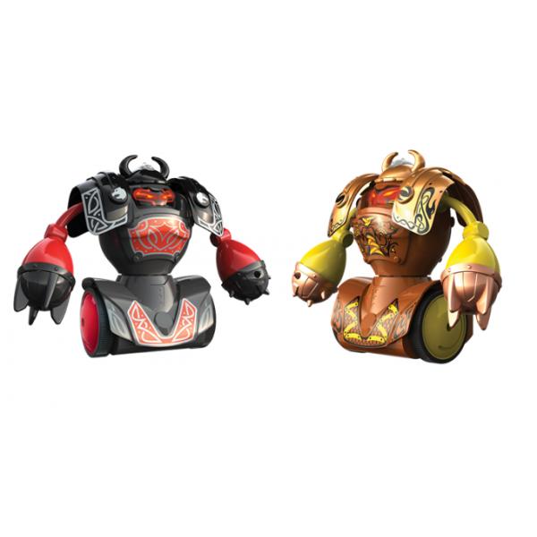 Robô Kombat Vikings com Armadura Removível Silverlit - DTC