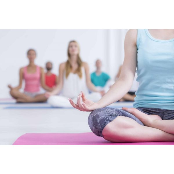 Colchonete Tapete Yoga Ginástica 173 x 61 cm Fitness Laranja