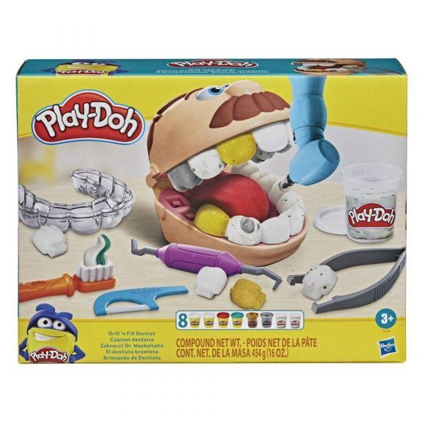 Play Doh Brincando de Dentista - F1259 Hasbro