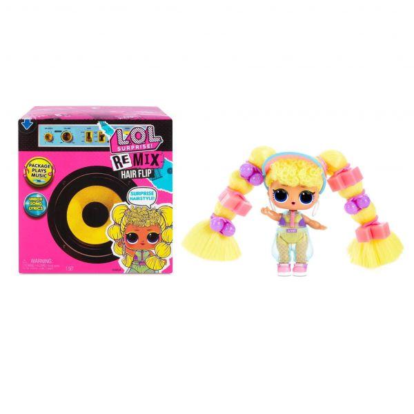 Boneca Lol Surprise Remix Hair Flip Surpresa - Candide