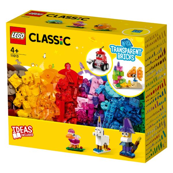Blocos De Montar Lego Classic Transparentes Criativos -Lego