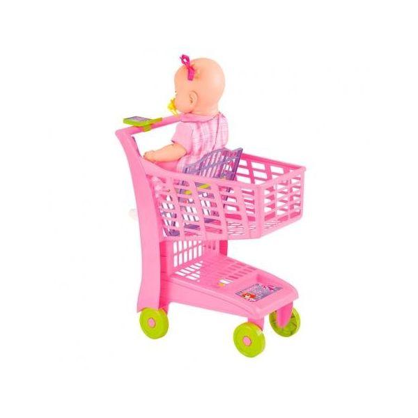 Carrinhode compras infantil Market Rosa - Magic Toys