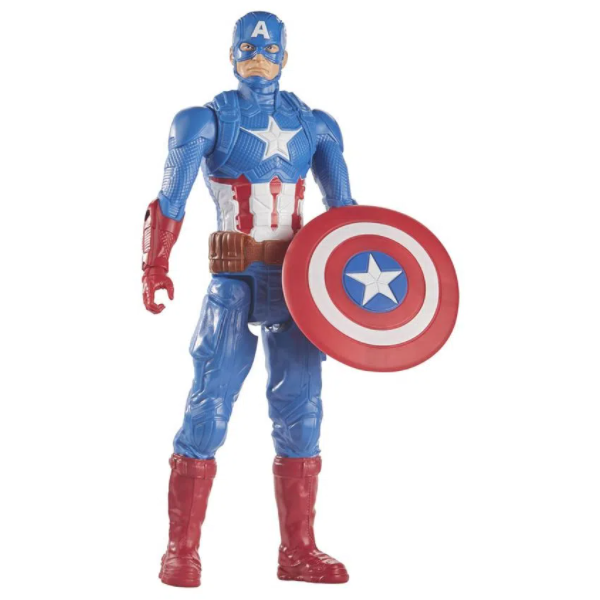 Capitão América 30 Cm Titan Heroes - Disney Marvel