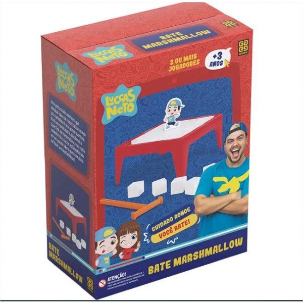 Jogo Para Crianças Bate Marshmallow - Luccas Neto Grow