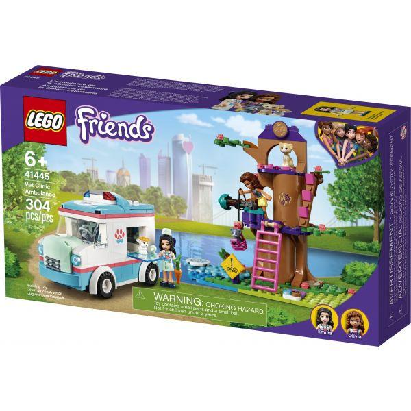 Lego Friends Ambulância Clinica Veterinária - Lego