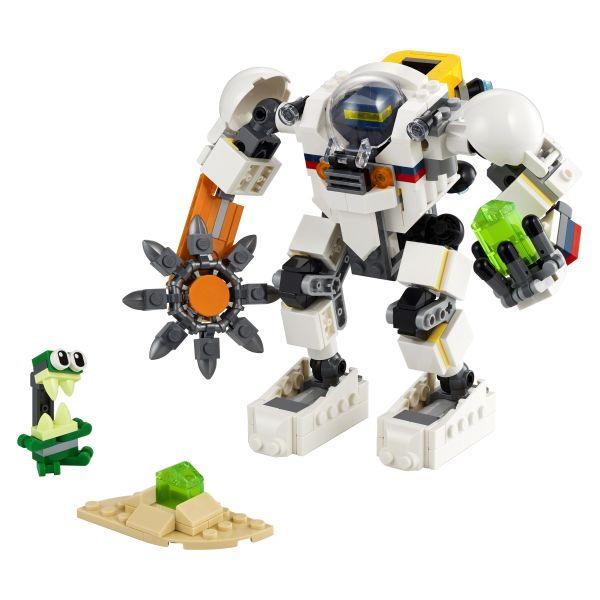Lego Creator Robô Mineração Espacial 3 Em 1 - Lego