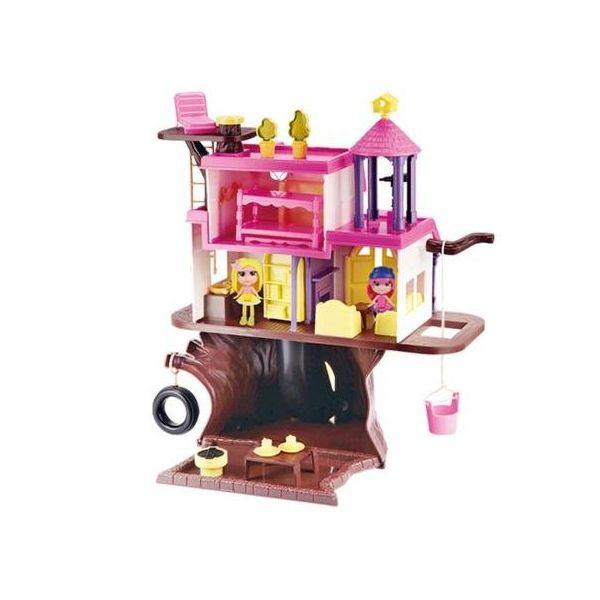 Casinha na Arvore brinquedo infantil com acessórios - Homeplay/ Xplast