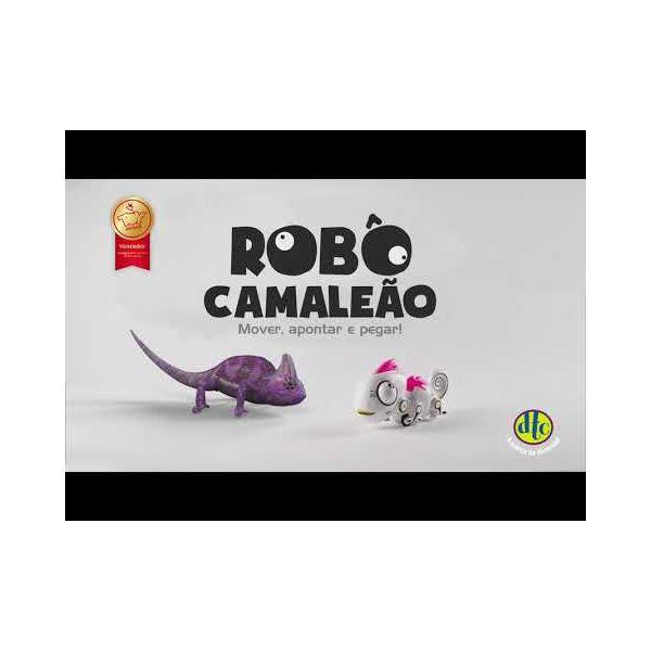 Robô CCamaleão com controle Remoto e Luz - DTC