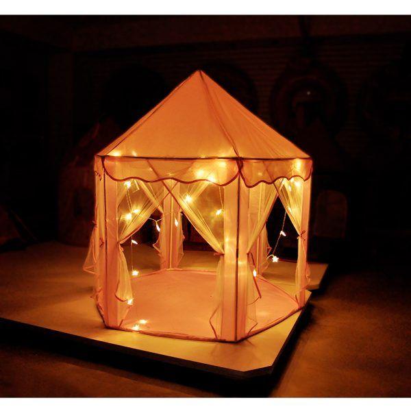 Barraca Infantil Tenda Iluminada Led Dmt 5875 - Dm Toys