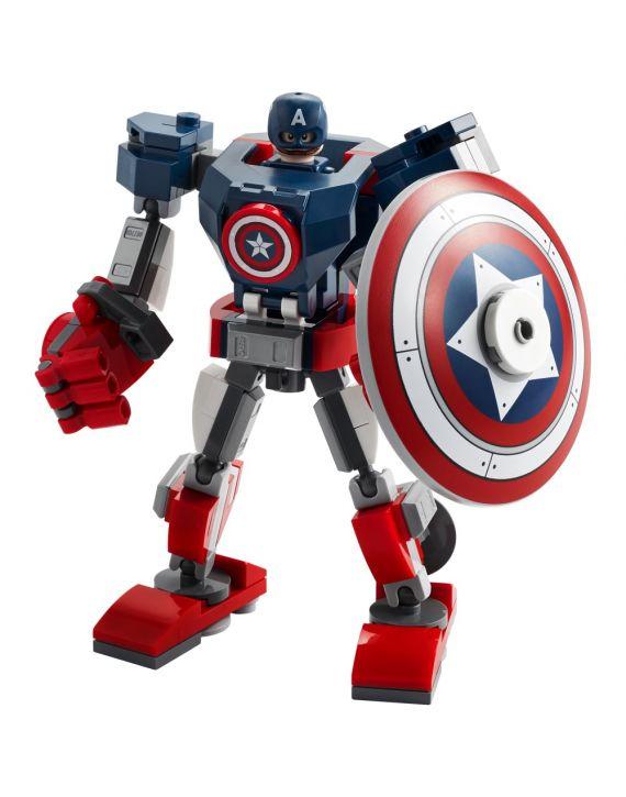 Lego Marvel Armadura Robo Capitão America - Lego