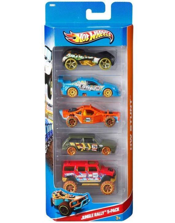 Carrinhos Hotwheels Pacote 5 modelos - Mattel