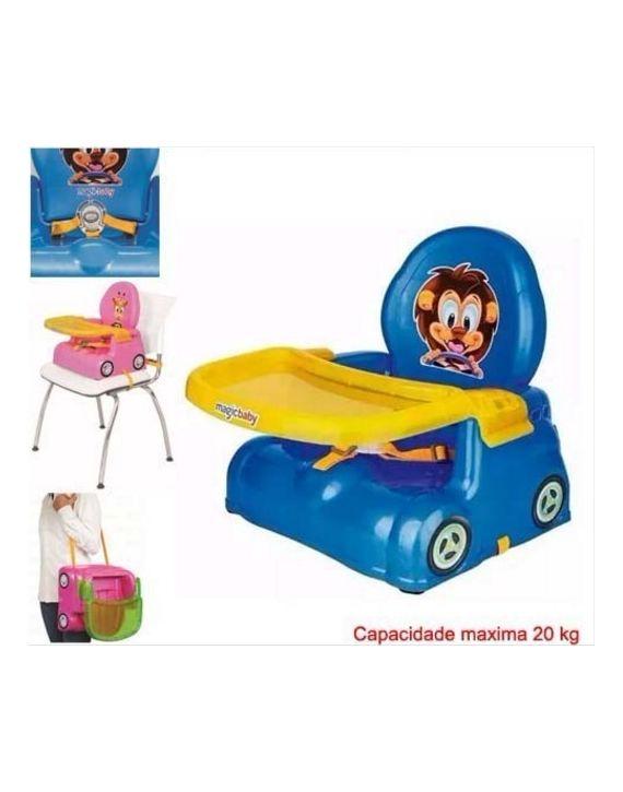 Cadeirinha Papinha Compacta Azul Magic Toys