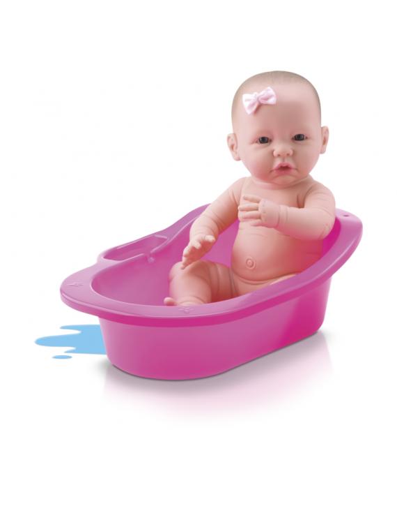 Boneca Bebê Diver New Born - Banho De Carinho C/ Banheira - Divertoys