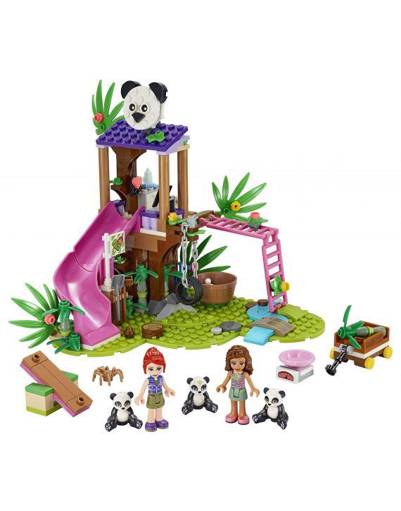 Lego Friends Casa Do Panda Na Arvore e Selva - Lego