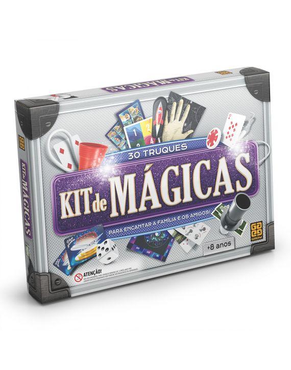 Jogo Kit de Mágicas 30 Truques Grow