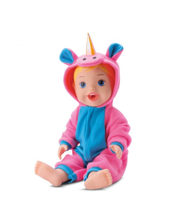 Boneca Baby My Little Collection Unicornio Divertoys