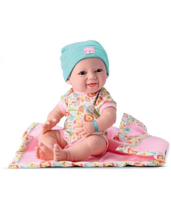 Boneca New Born Maternidade + Acessórios Abre e Fecha Olhos - Divertoys