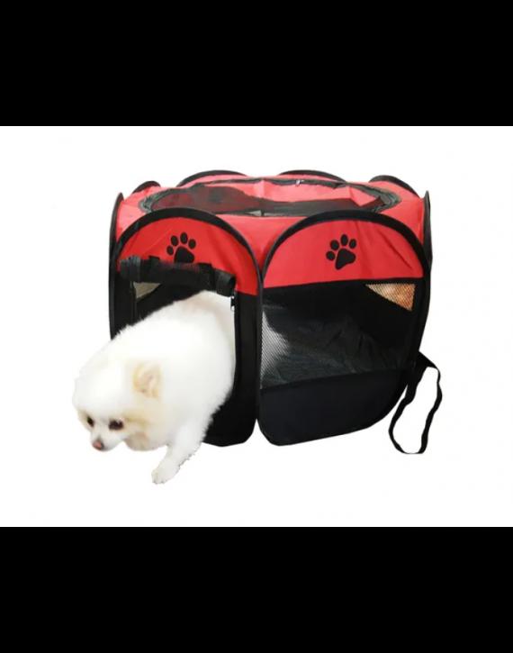 Casinha Cercado Toca Portátil Dobravel Cães Gatos Pet.