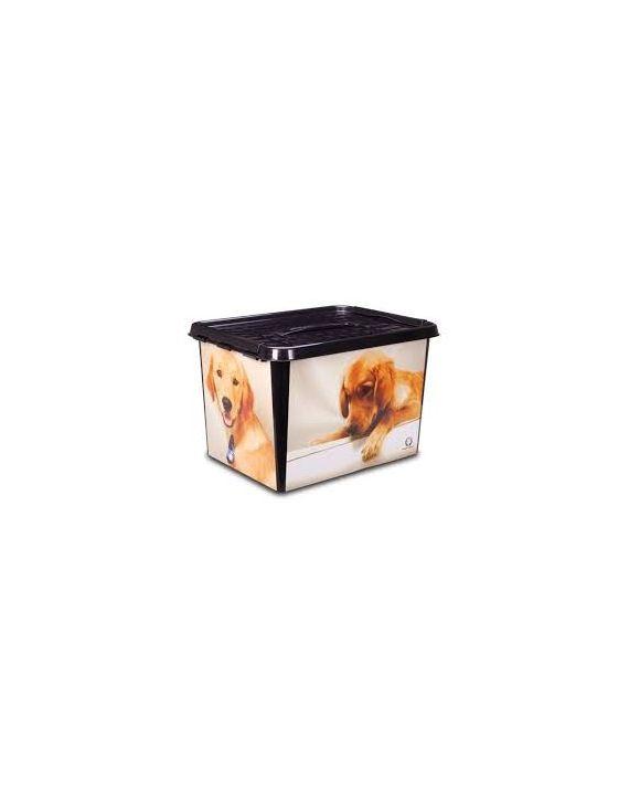 Caixa Pet Com Alça 22 Litros Monte Libano