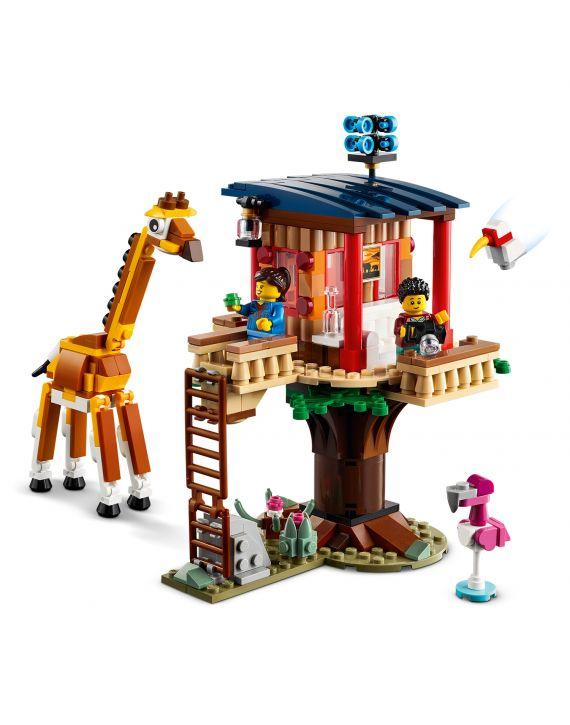 Lego Creator 3 Em 1 Safari Casa Na Arvore - Lego