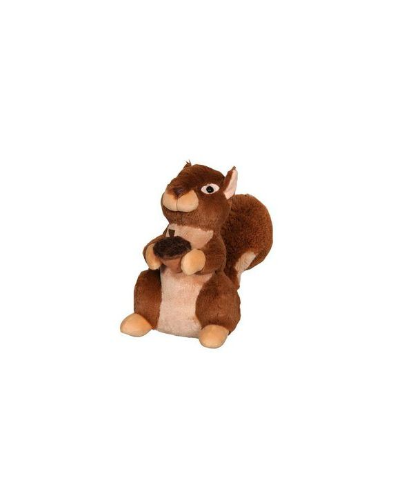 Pelúcia Esquilo Sapeca 27 Cm Anti-Alérgica  Lovely Toys