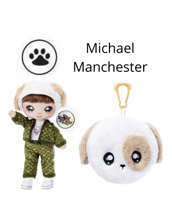 Boneca Na! Na! Na! Surprise Michael Manchester - Candide
