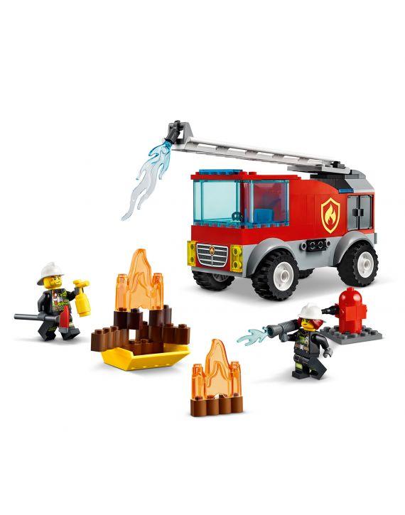 Lego City Caminhão Dos Bombeiros Com Escada - Lego