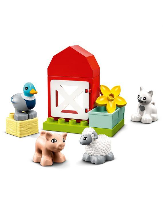 Lego Duplo Cuidando Dos Animais Da Fazenda - Lego