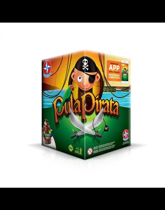 Jogo Pula Pirata C/ Aplicativo P/ Celular Estrela Brinquedo