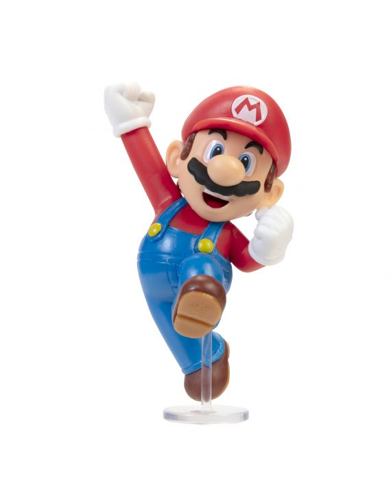 Bonecos Super Mario Nintendo 2,5 polegadas 6,3 cm de altura - Candide/ Jakks