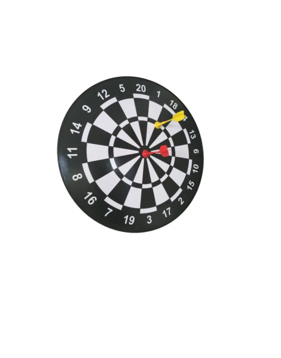 Jogo De Dardo Magnético De Arremesso Cor Branco - Hoyle