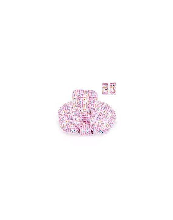 Almofada Para Amamentação Rosa - Kitstar