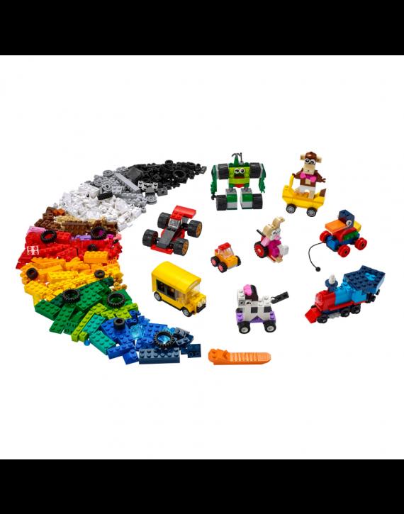 Lego Classic Blocos E Rodas - Lego