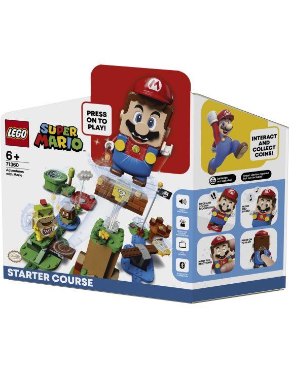 Lego Super Mario Fase 1 Aventuras Do Mario Início - Lego