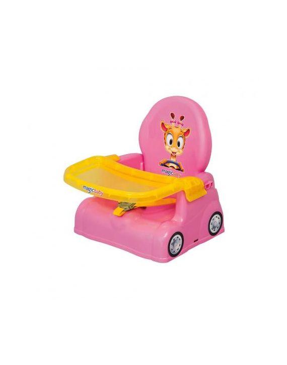 Cadeirinha Papinha Compacta Rosa Magic Toys Oferta