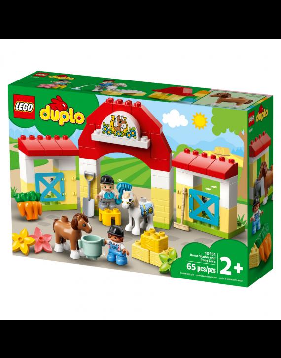 Lego Duplo  Estabulo De Cavalos e Poneis 65 Peças - Lego