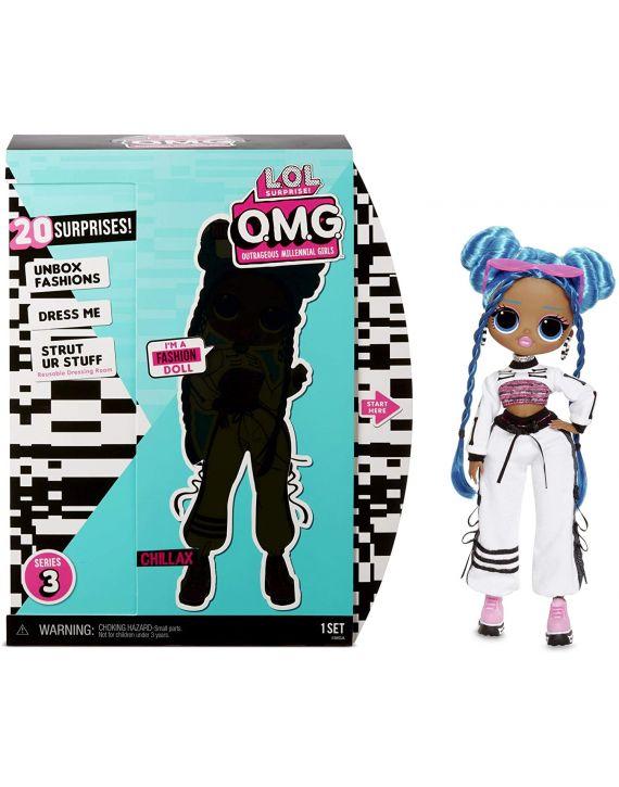 Boneca Lol Surprise Omg Doll Core Asst Wave Chillax Candide