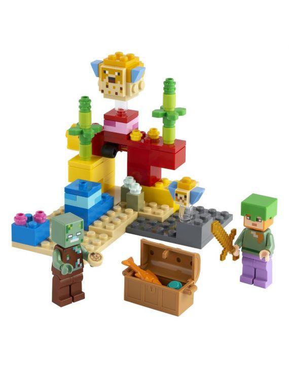Lego Minecraft O Recife De Coral - Lego
