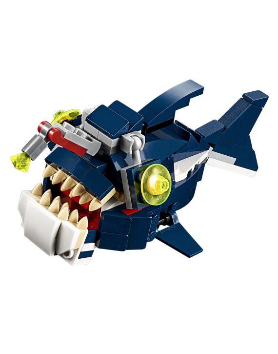 Lego Creator Criaturas Fundo Do Mar 3 Em 1 - Lego
