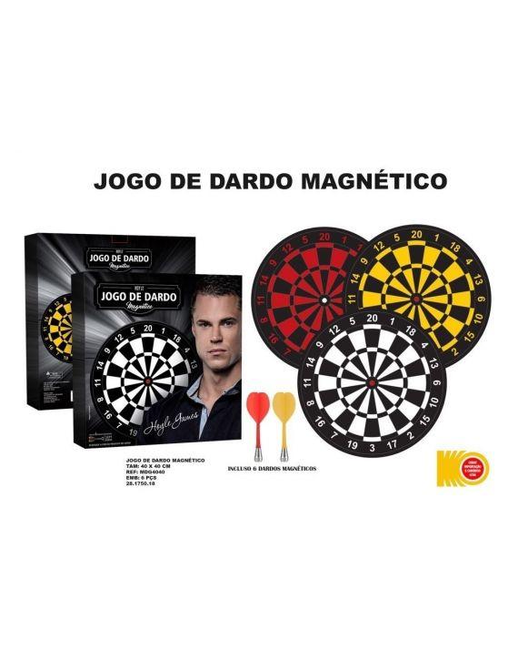Jogo De Dardo Magnético De Arremesso Cor Vermelho - Hoyle