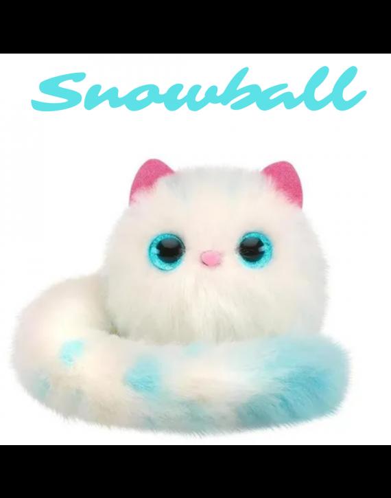 Pomsies  Pelucia Interativa Gatinha Snowbal - Candide