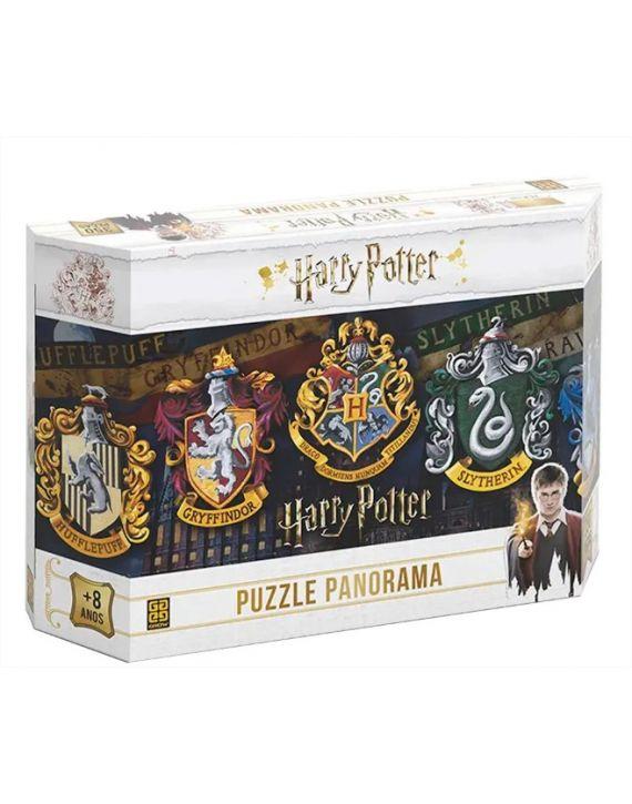 Jogo Puzzle Quebra Cabeça 350 pçs Panorama Harry Potter Grow