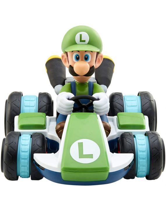Carro de Controle Remoto Mario Kart Luigi com 7 Funções Candide