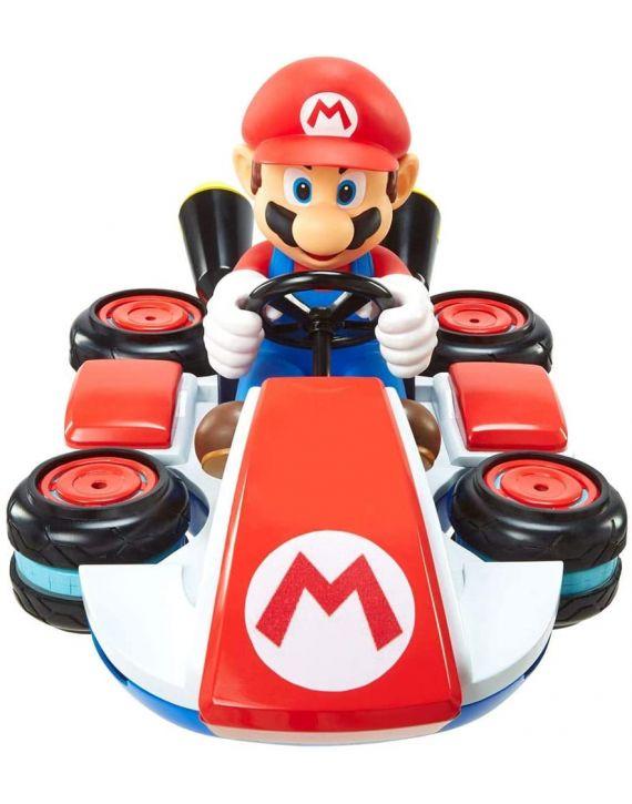 Carro de Controle Remoto Mario Kart Super Mario com 7 Funções - Candide /Jakks